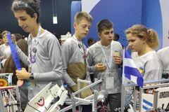 Украинские школьники вошли в топ-10 всемирной олимпиады по робототехнике