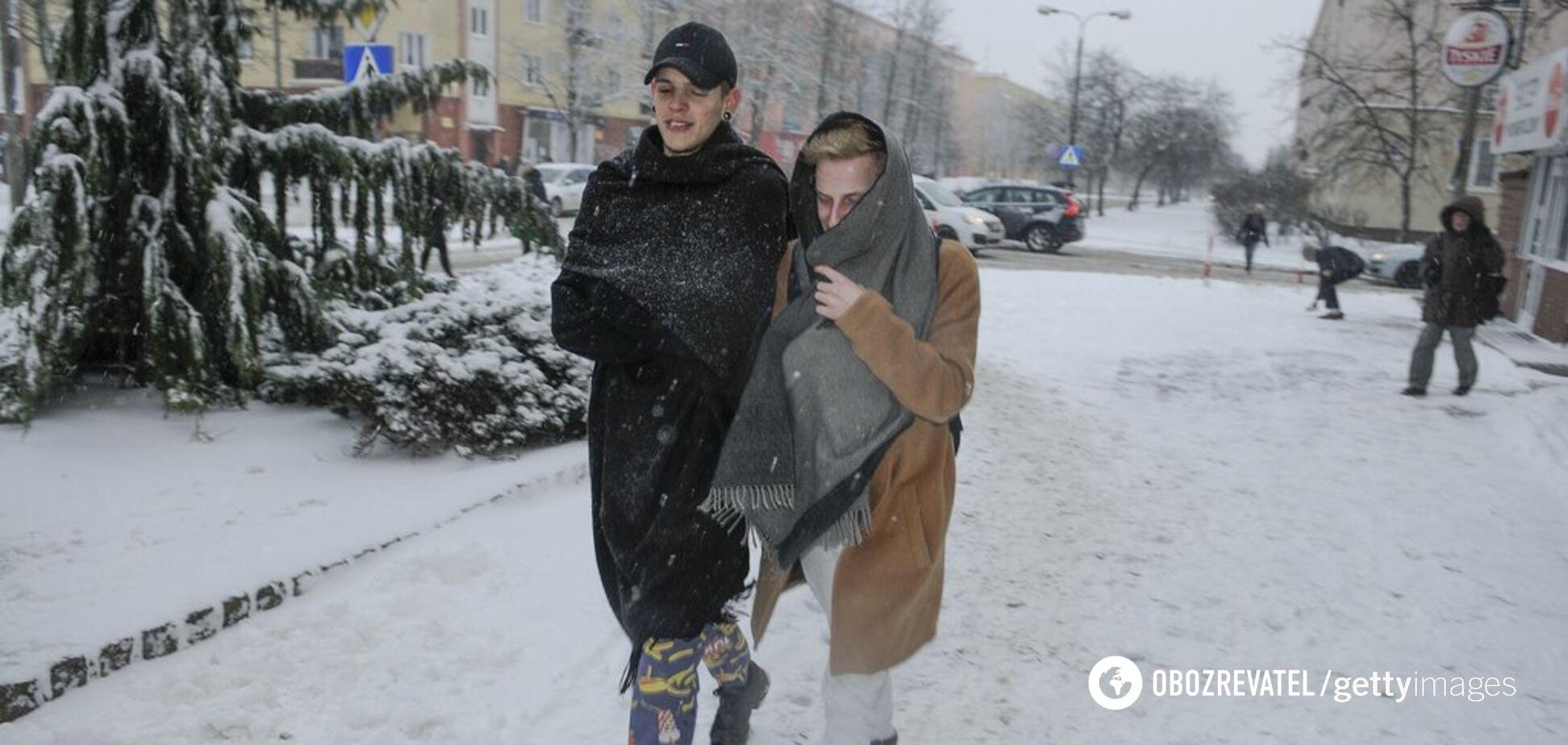 Синоптикиня розповіла, якою буде зима 2020 року в Україні