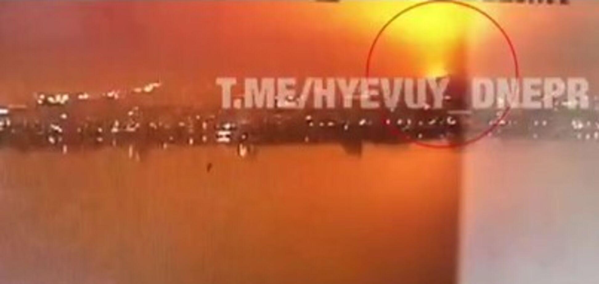 Мощный взрыв на заводе в Днепре: появилось видео
