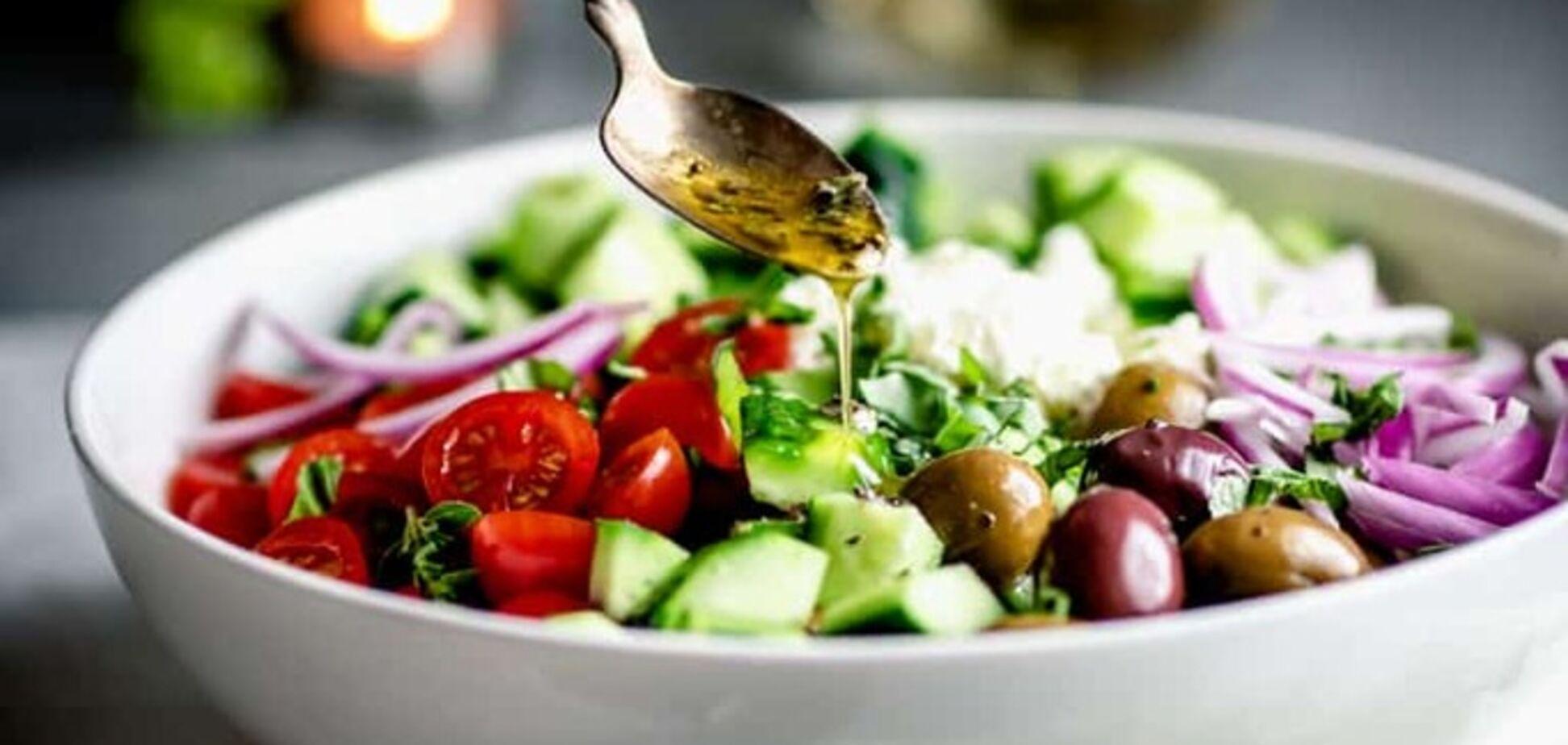 Рецепт самого вкусного греческого салата