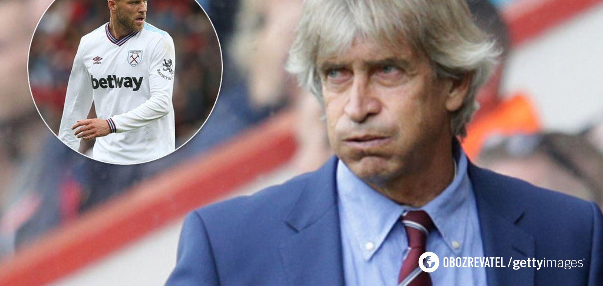 'Как мы и ожидали': главный тренер 'Вест Хэма' сделал заявление о Ярмоленко