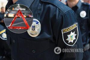 На Кіровоградщині поліцейський збив велосипедиста