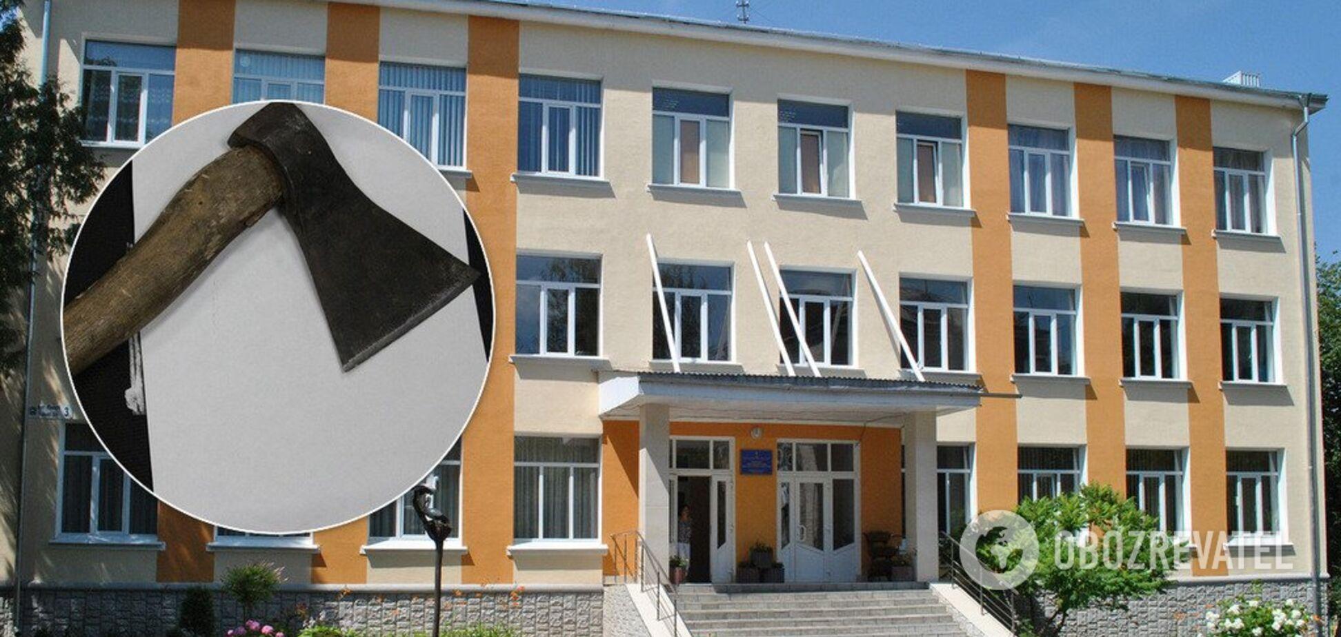 В России школьник пытался зарубить топором одноклассников: все подробности