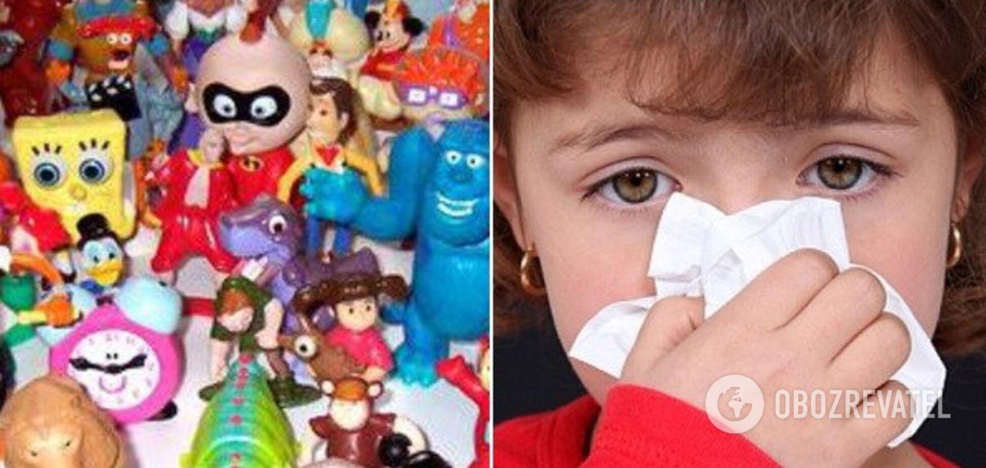 'Думали, амброзия!' В Днепре ребенок отравился ядовитыми игрушками