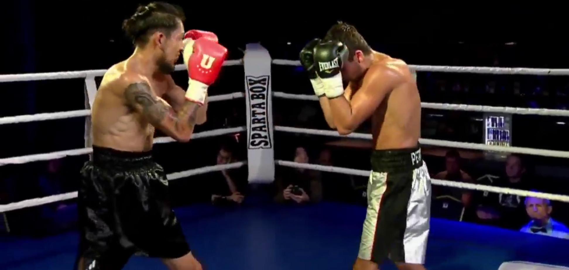 Украинский боксер пушечными ударами сломал ребро мексиканцу - видео нокаута