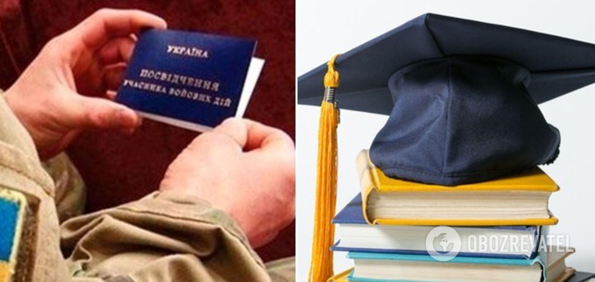 За 400 євро на навчання: на Дніпропетровщині учасники АТО отримають гранти