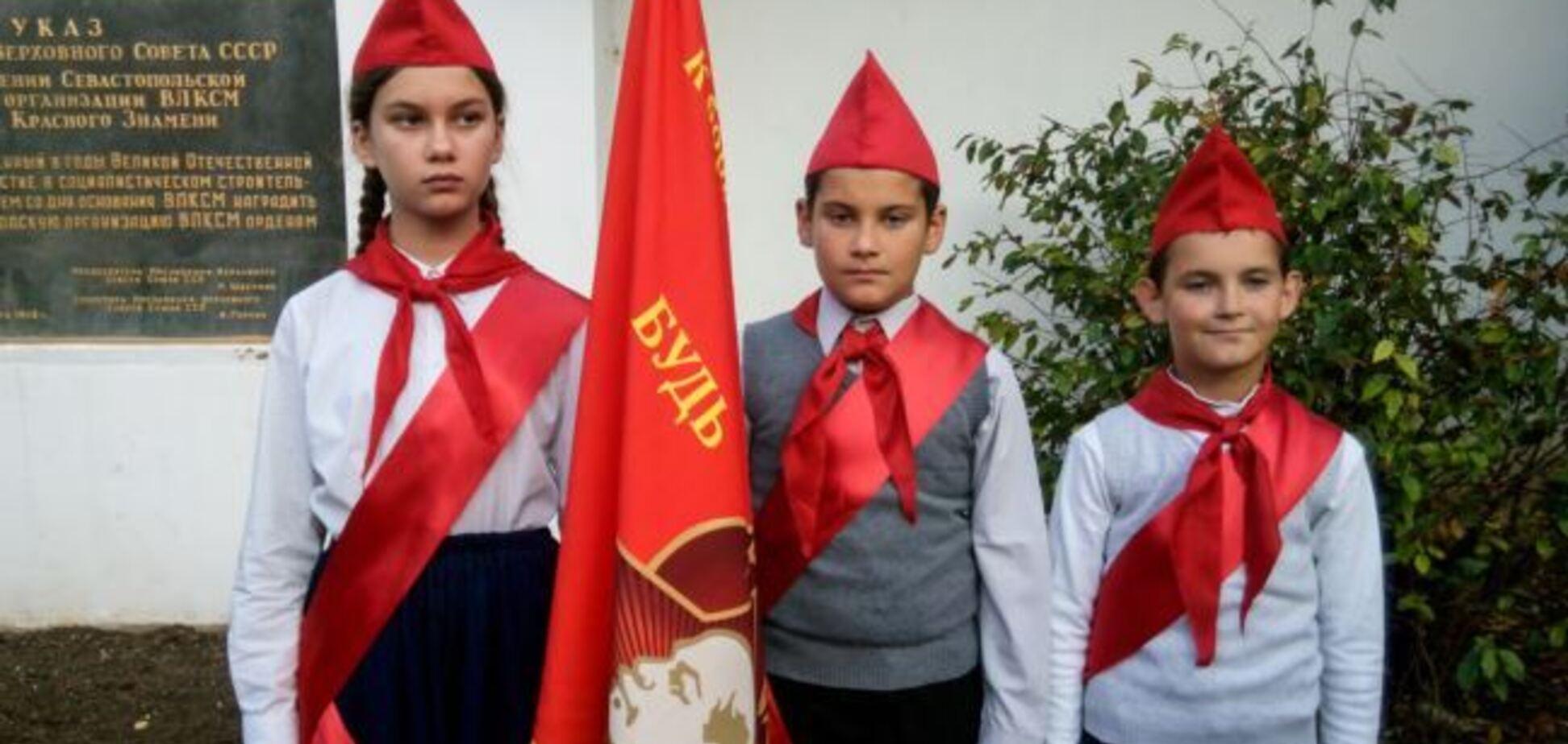 'Днище!' Сеть разозлил праздник комсомола в украденном Крыму