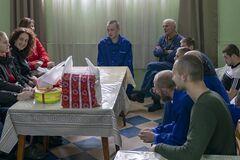 СК 'Прометей' <strong>посетил бойцов</strong> и подарил бойлеры военному госпиталю