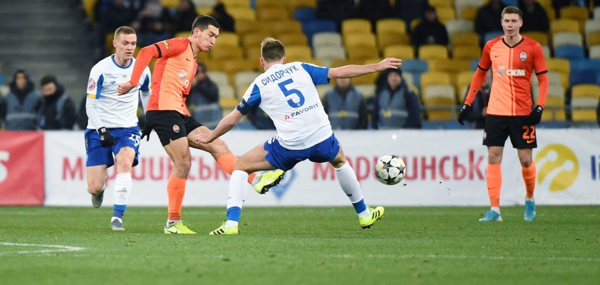 Степаненко невероятным голом на последней секунде спас 'Шахтер' в матче Кубка Украины с 'Динамо'