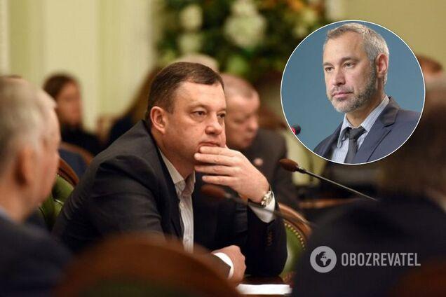 Рябошапка зажадав зняти недоторканність з Дубневича