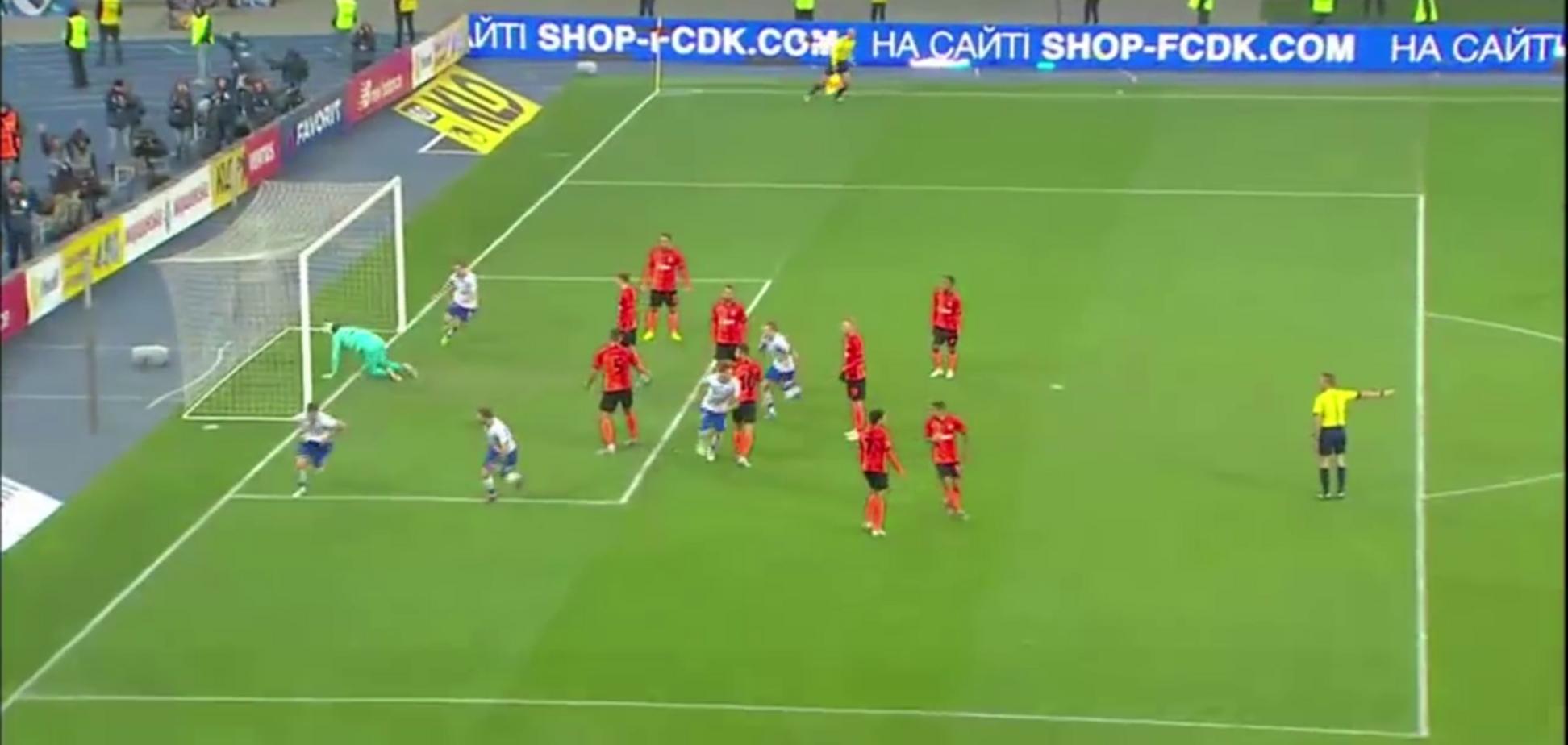 Как 'Динамо' выбило 'Шахтер': появилось видео победного гола
