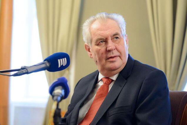 Земан признал Крым частью России