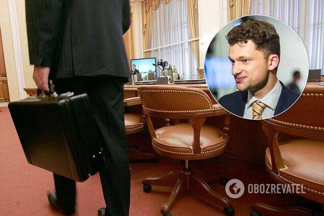 Дубілет оголосив про скорочення держслужбовців