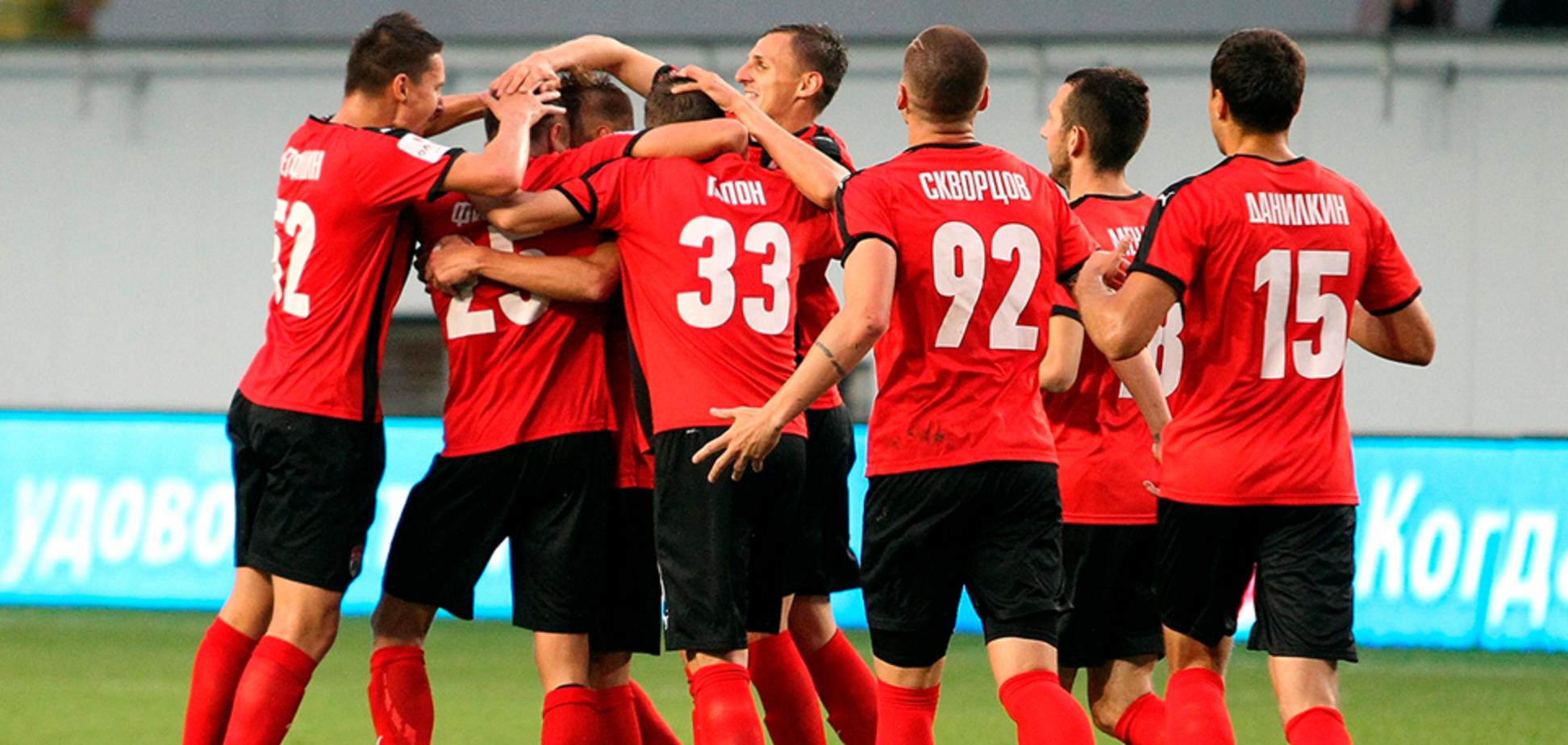 Экс-футболист сборной Украины забил фантастический 'виляющий' гол в России