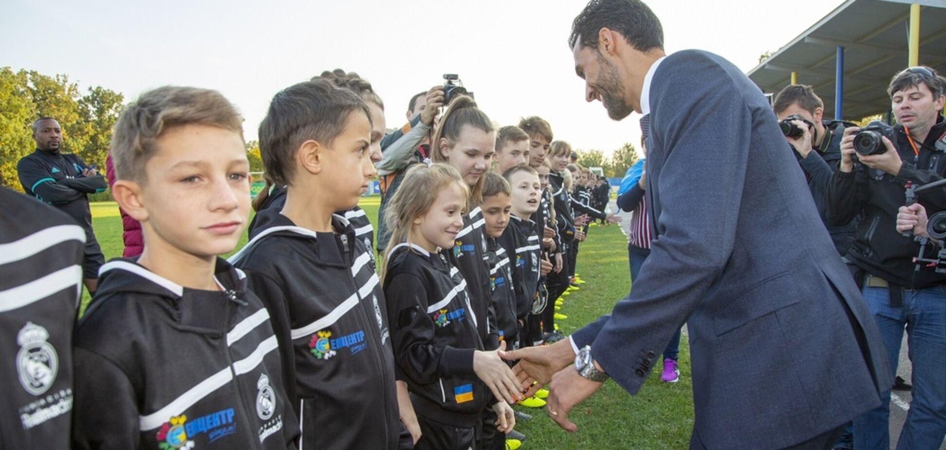 Гра, що змінює життя: в Україні відкрили соціально-спортивні школи Фонду 'Реал Мадрид'