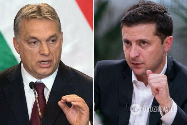 Віктор Орбан і Володимир Зеленський