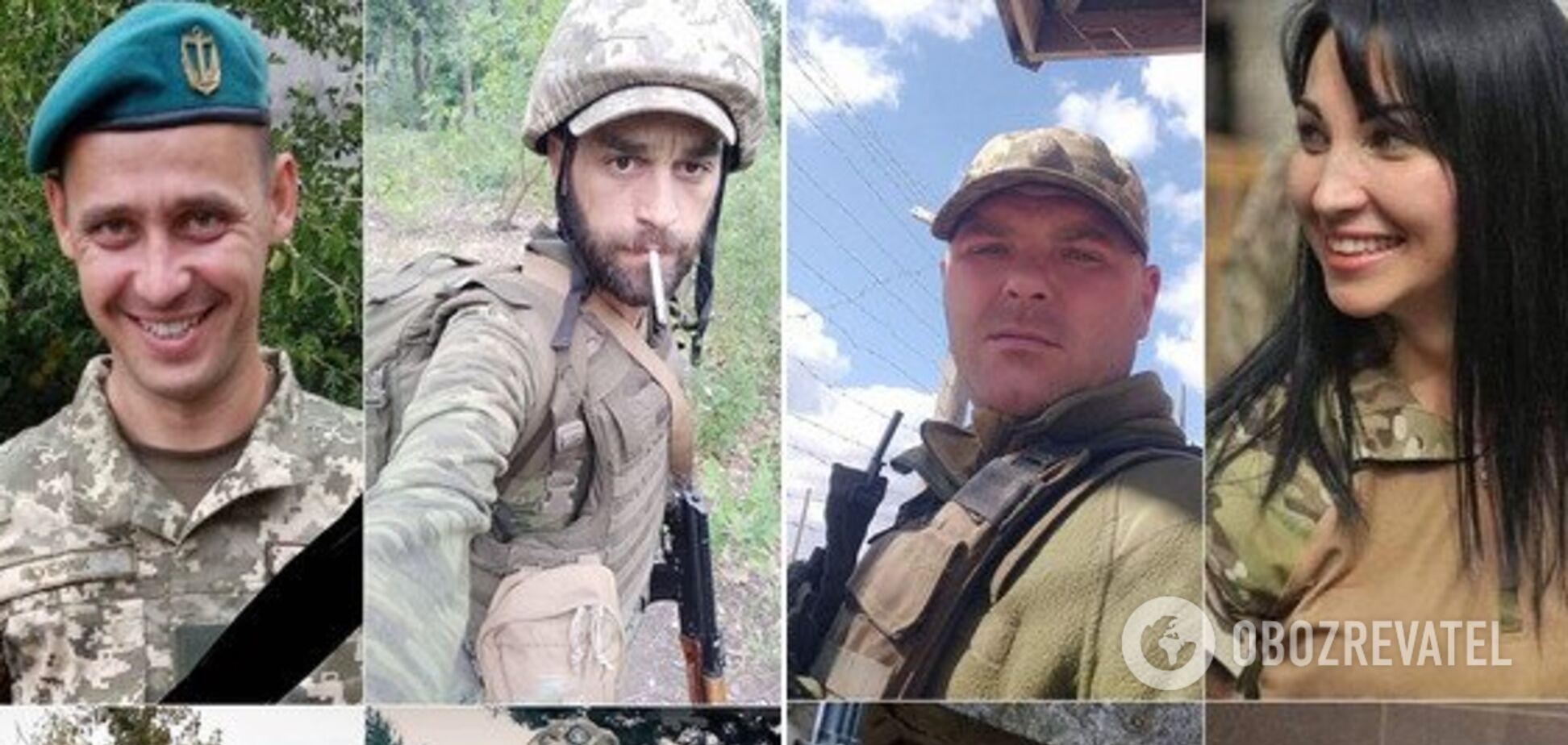 'Помогайте нам с Небесного войска': 10 историй и фото воинов-героев, погибших в октябре