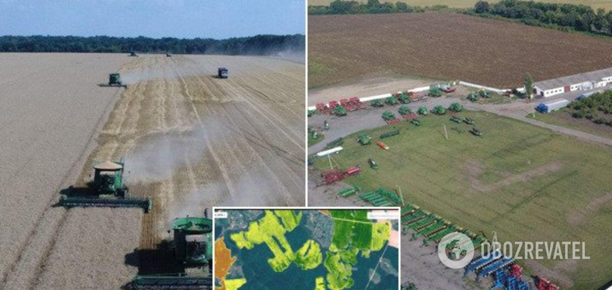 Знімки з супутника та дрони: як в Україні аграрії розвивають сільське господарство