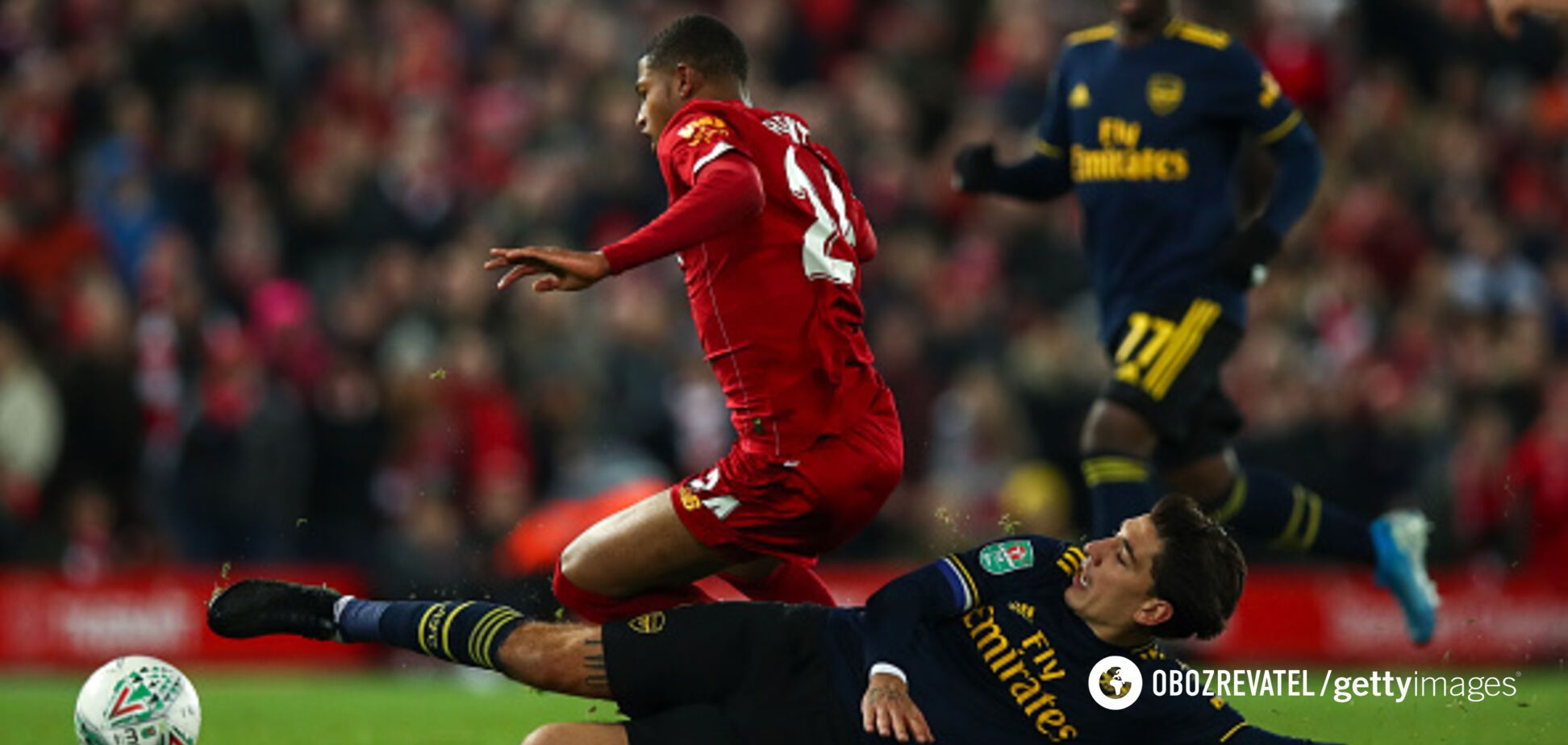 Камбэк на последней секунде в матче с 10 голами: 'Ливерпуль' установил суперрекорд в Англии