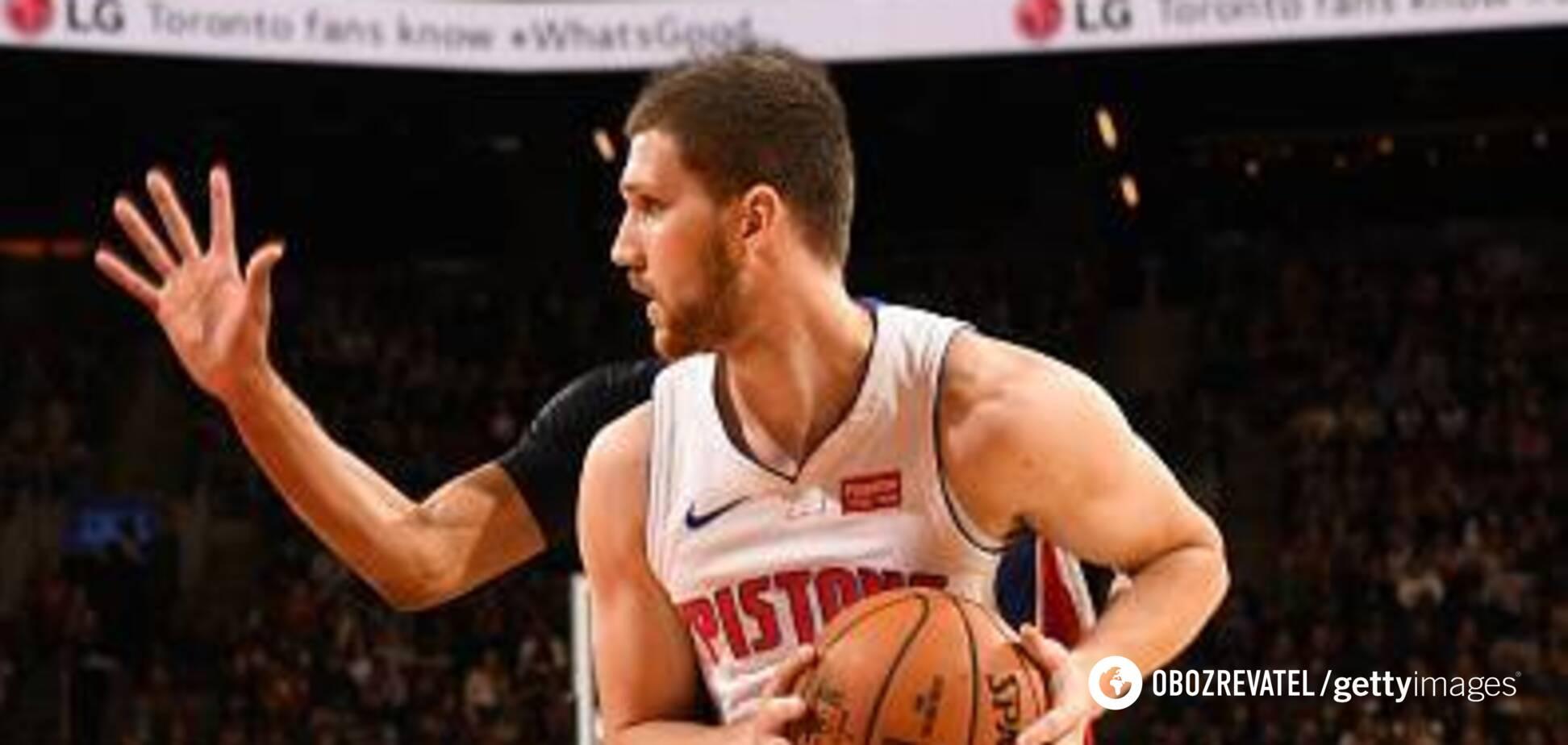 Українець Михайлюк фантастично дебютував у новому сезоні НБА