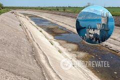 Води майже не залишилося: 'влада' Криму заявила про близьку катастрофу