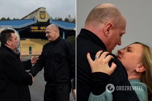 В Україну повернувся журналіст, засуджений у Білорусі на 8 років