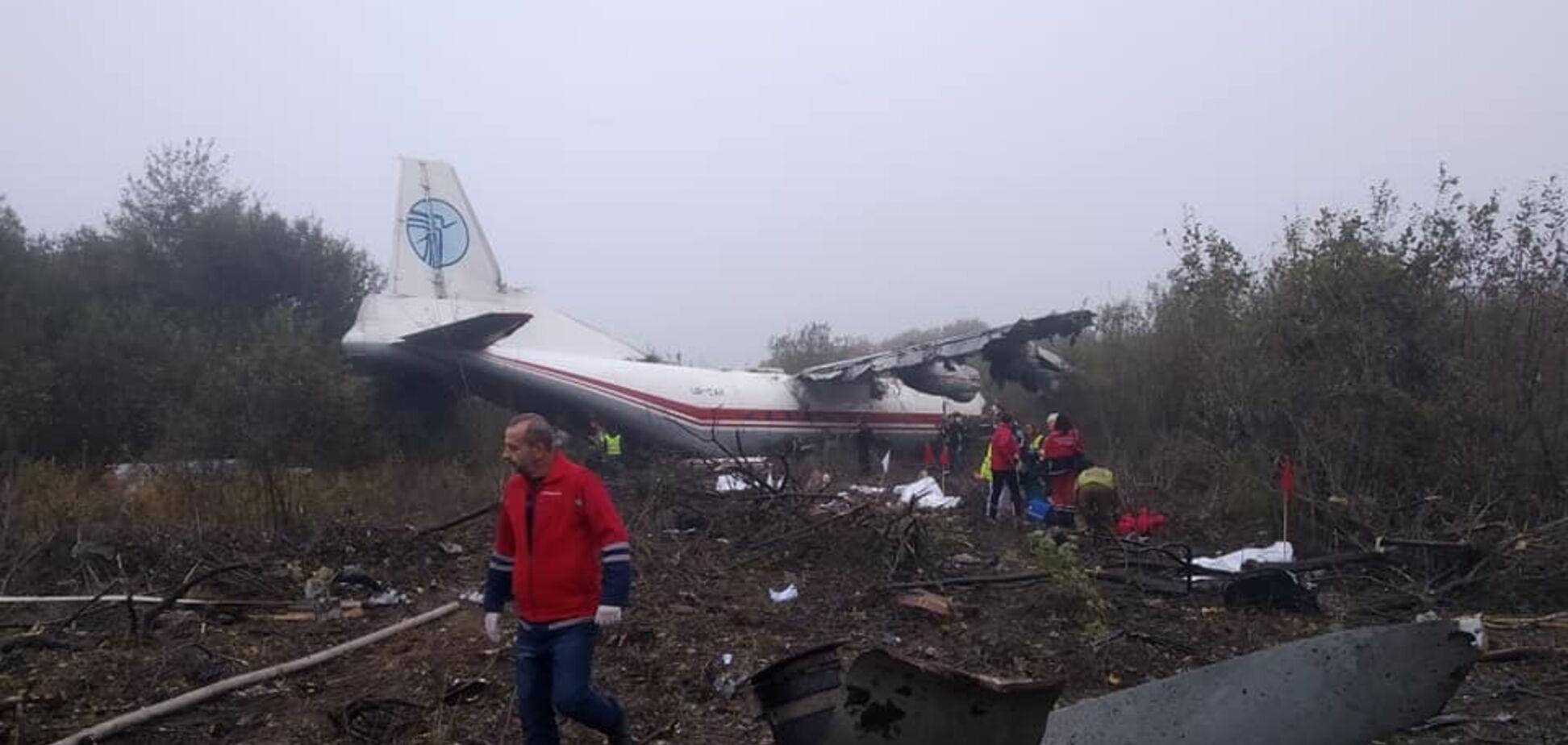 Смертельна катастрофа з літаком під Львовом