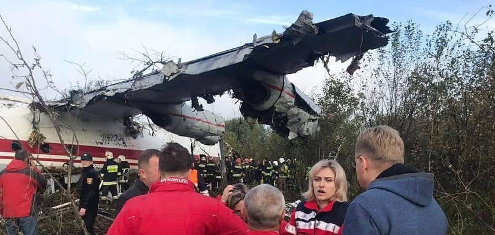 З'явились нові подробиці авіакатастрофи під Львовом