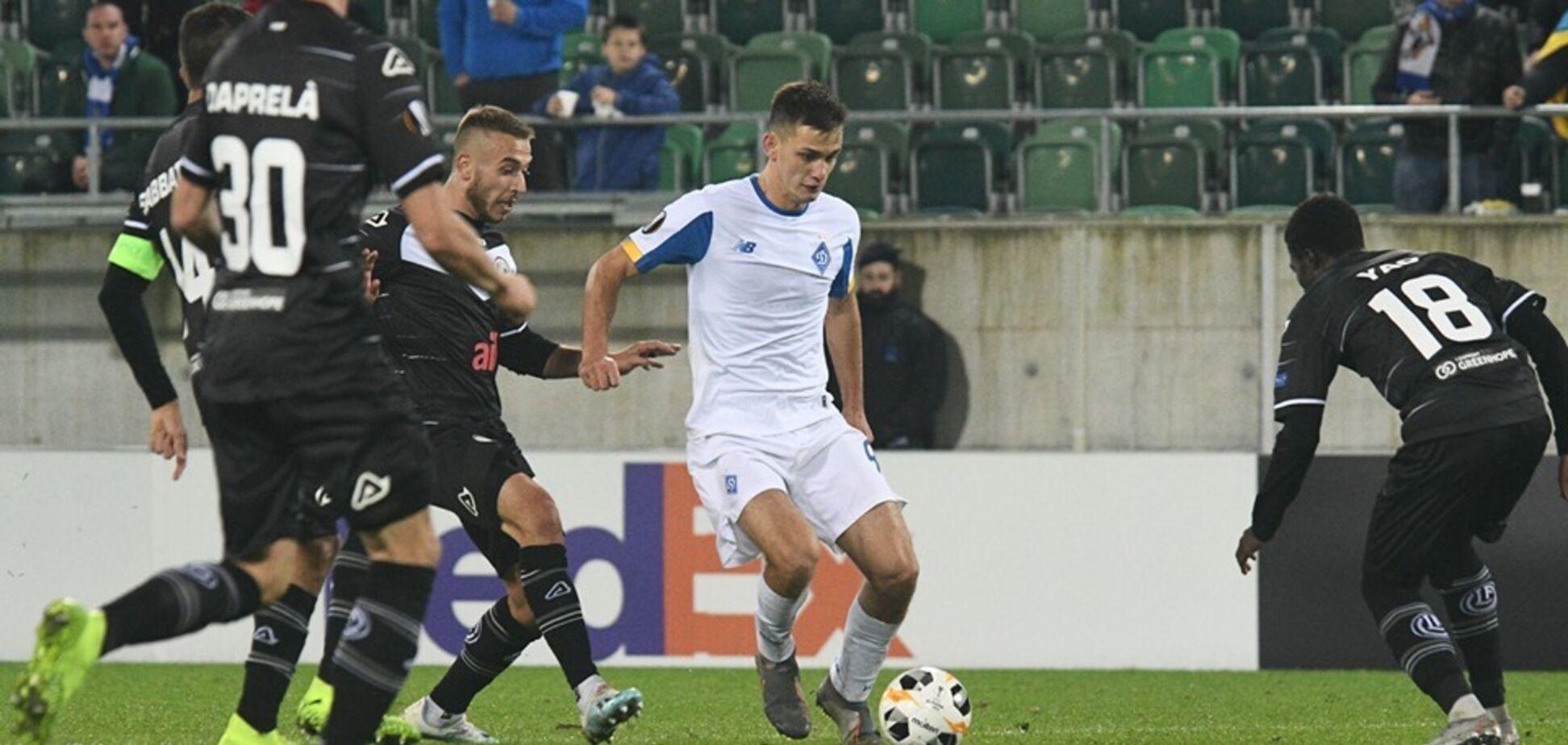 'Как го*но в проруби': 'Динамо' оскорбили в сети после ничьей в Лиге Европы