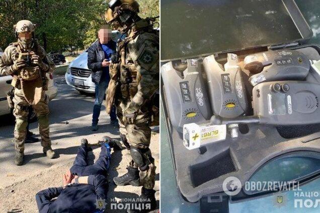 В Днепре спецназовцы поймали вооруженную банду