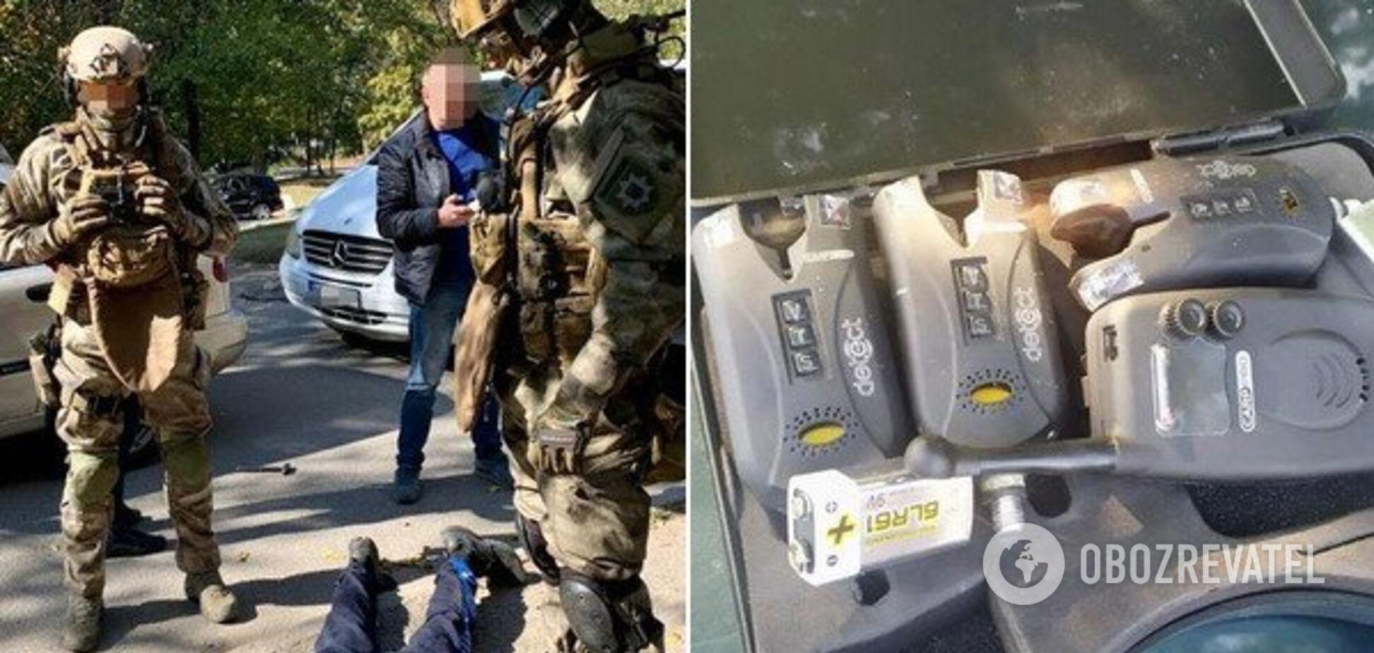 В Днепре спецназовцы поймали вооруженную банду: видео 18+