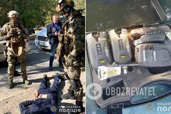 В Днепре спецназовцы <strong>поймали вооруженную банду</strong>: видео 18+