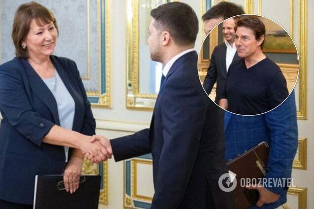 Глава ВСУ поскаржилася на Зеленського через Тома Круза