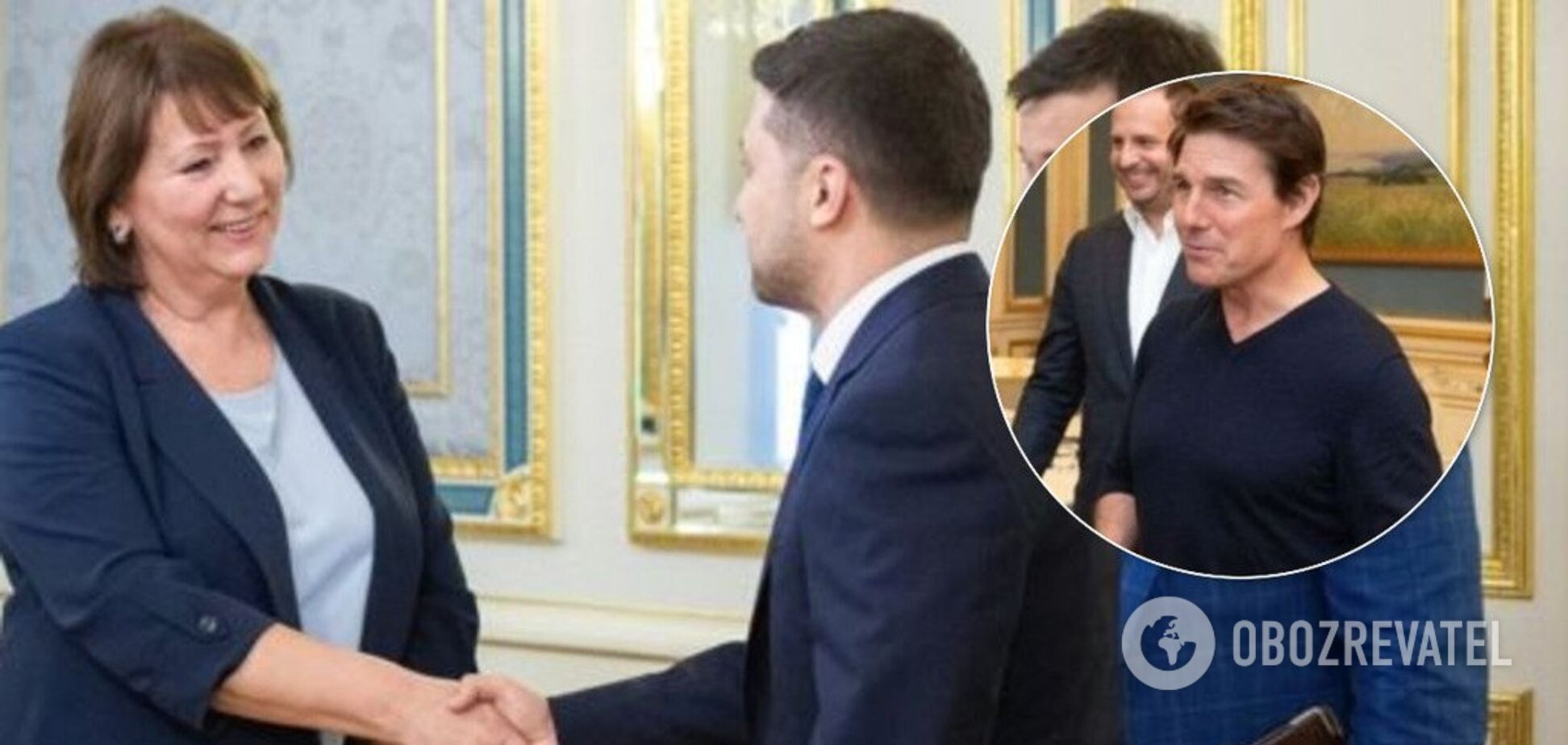 Глава ВСУ пожаловалась на Зеленского из-за Тома Круза