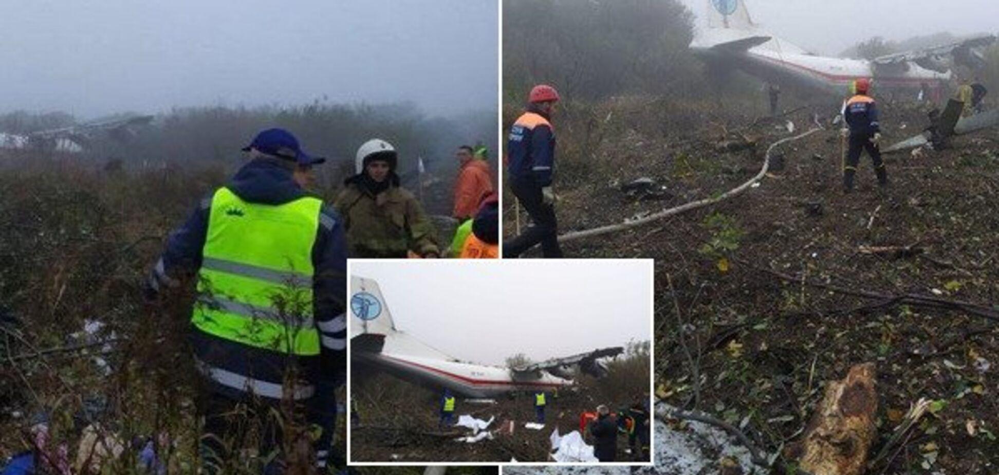 Под Львовом аварийно сел самолет с пассажирами: есть жертвы
