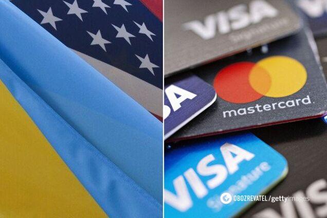 Торговые представители Соединенных Штатов по просьбе Mastercard и Visa в 2018 году выступали против новых правил обработки данных и локальных платежных систем в Украине