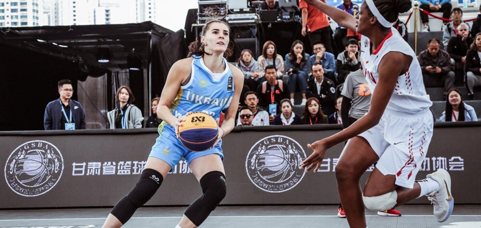 Українки здобули рекордну перемогу на ЧС U-23 з баскетболу 3х3