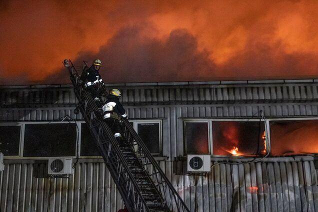 Пожежа знищила більшу частину будівлі