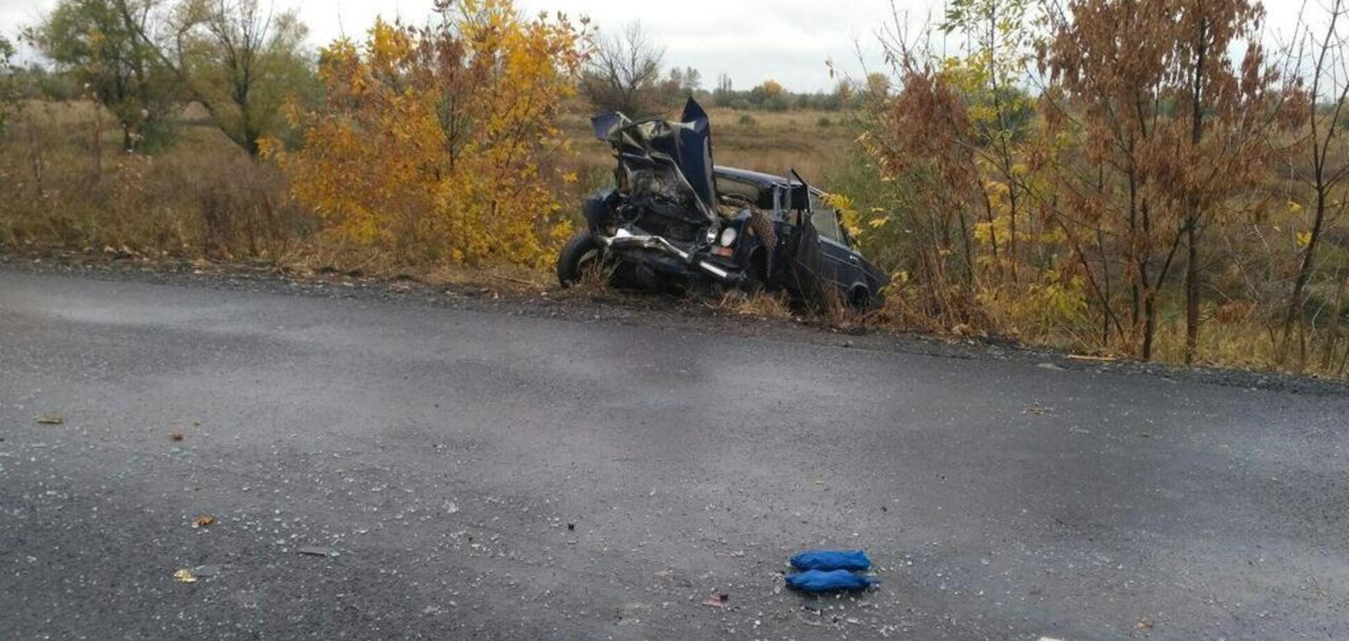 Вилетів на зустрічну: під Дніпром сталася смертельна ДТП з автобусом