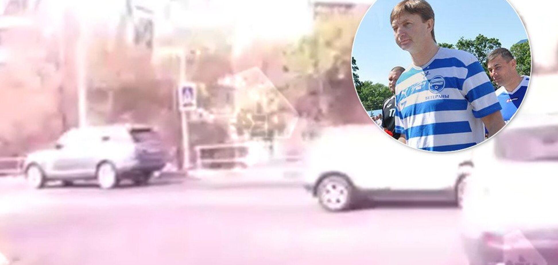 Знаменитый российский экс-футболист пьяным сбил ребенка на 'зебре' - момент попал на видео