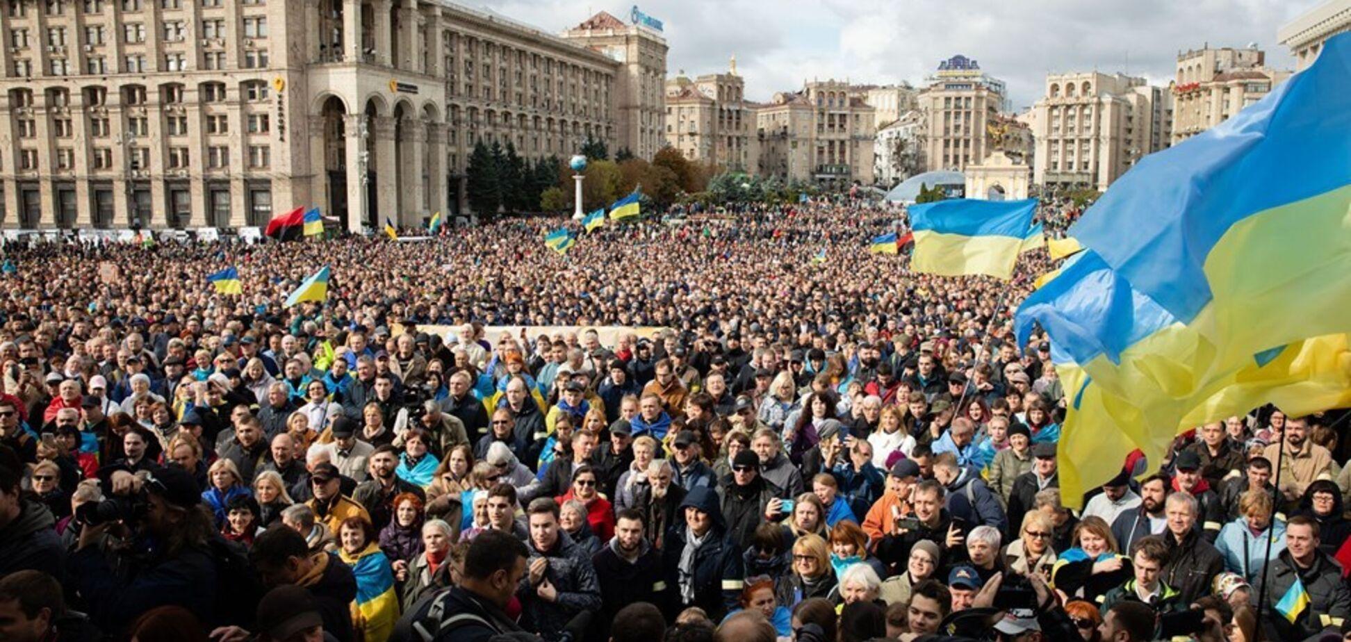 Власть приложила усилий, чтобы Украина оказалась на грани капитуляции