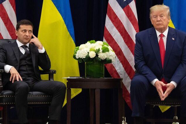 Президент України Володимир Зеленський і президент США Дональд Трамп