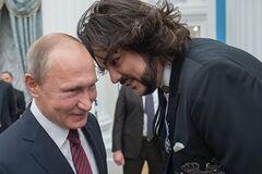 'Пишаємося!' Зірки РФ підлизалися до Путіна в день його народження