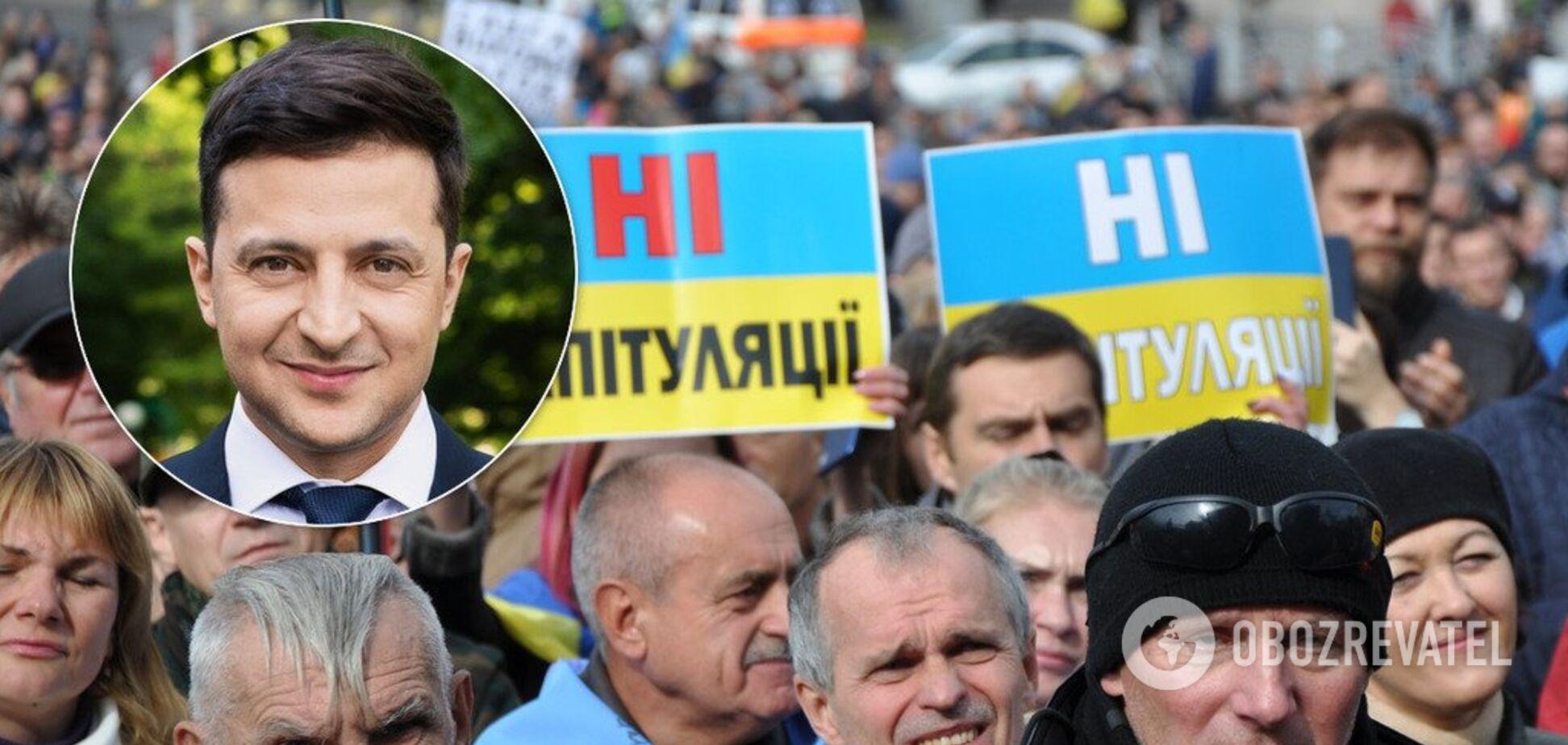 Зеленский разведет руками: 'Я ничего не могу сделать'