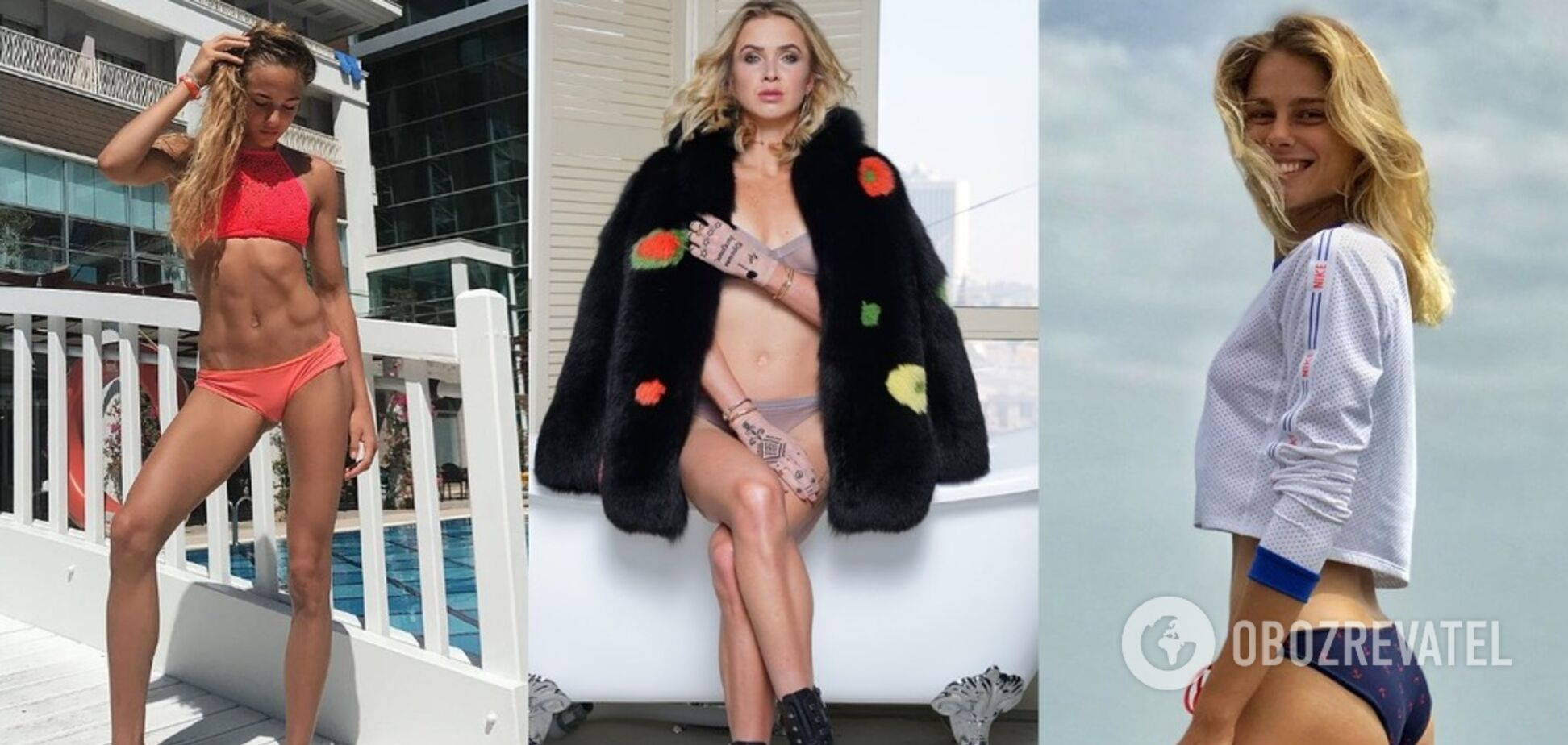 Самые красивые спортсменки Украины: рейтинг OBOZREVATEL – голосование