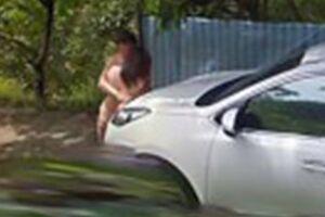 Обнаженная пара случайно попала на карты Google