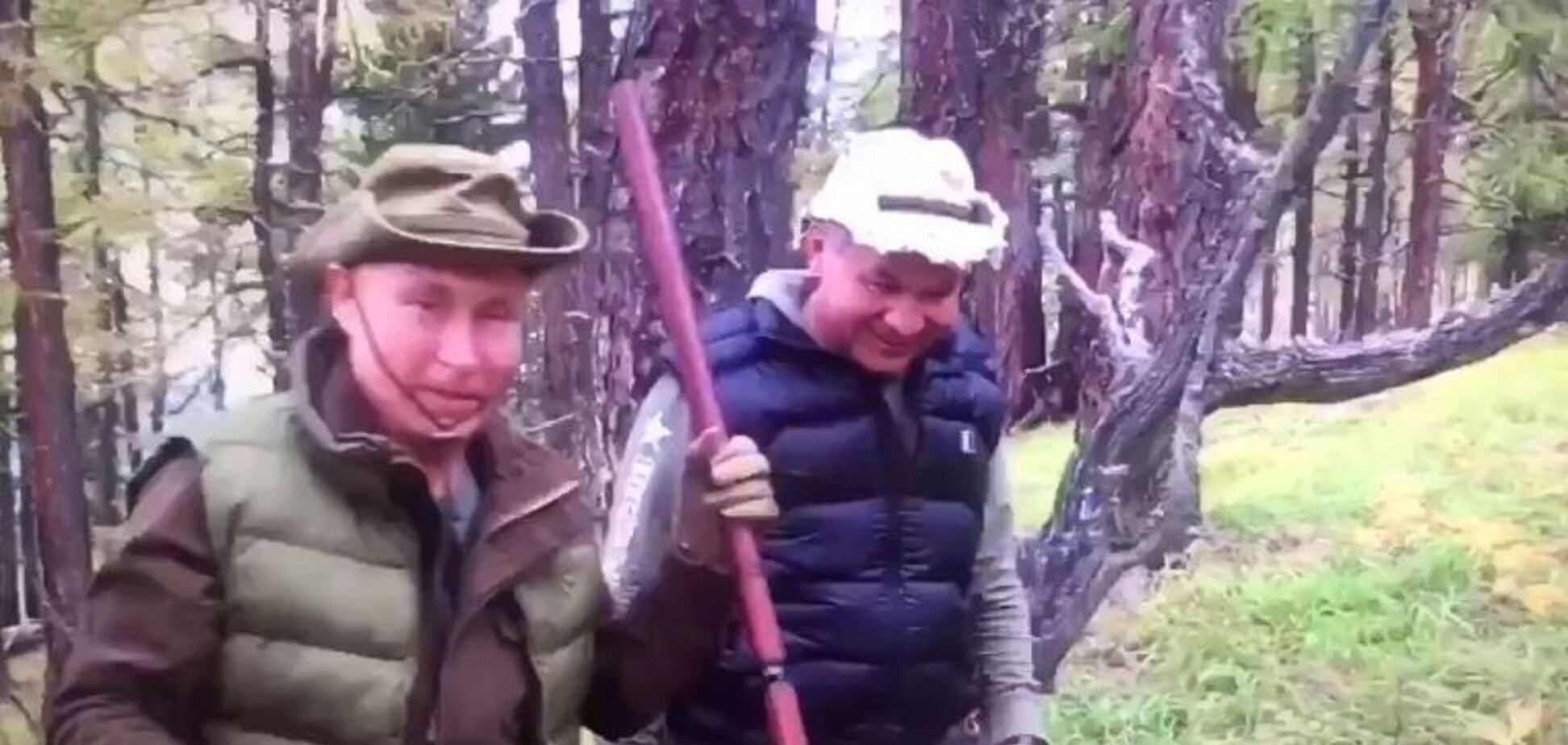 'Горбата гора!' Путіна зняли на відео за дивним заняттям