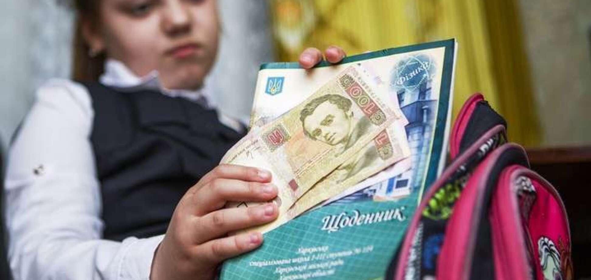 За час – 1600 гривен! В Виннице родители пожаловались на поборы в школе