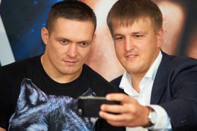 Олександр Усик та Олександр Красюк