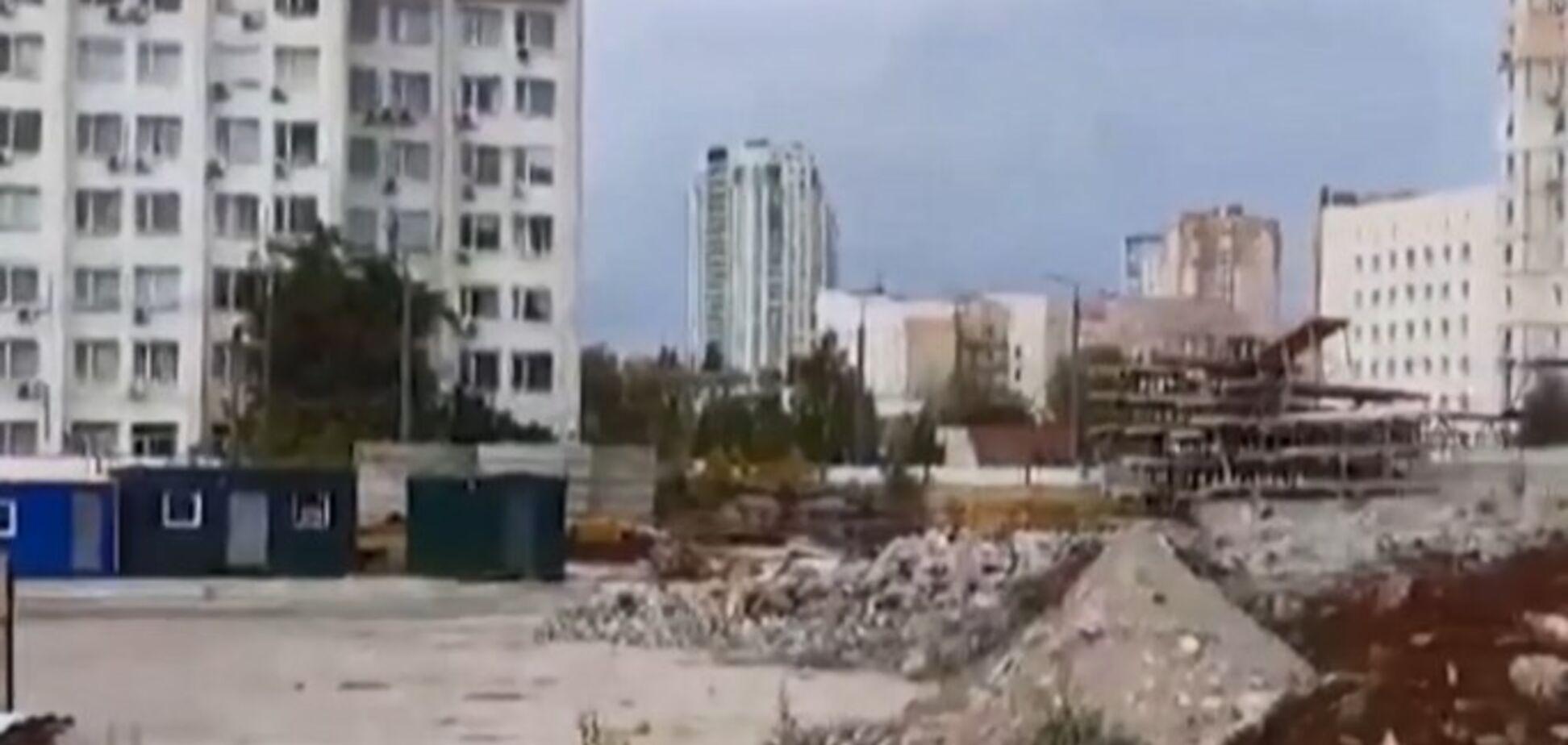 'Украли!' Пропавшие части Шулявского моста нашли на стройке 'Укрбуда'